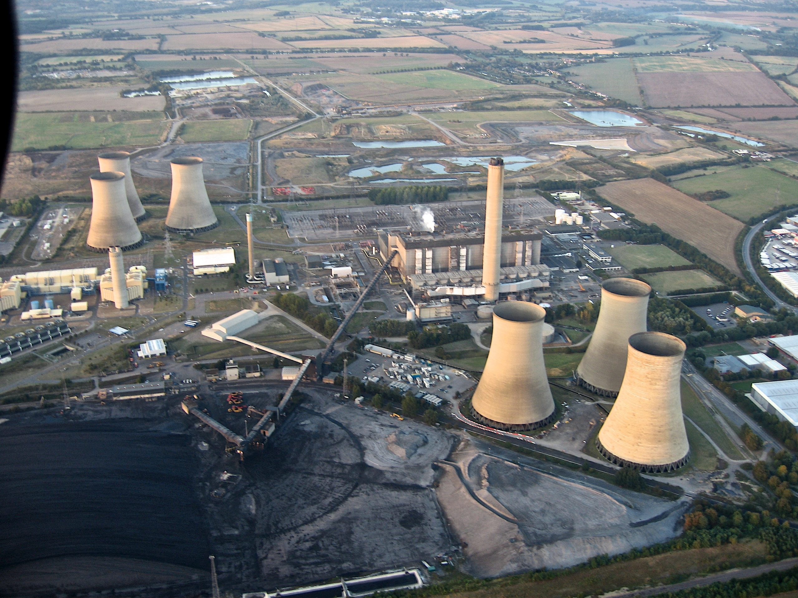 Didcot Power Station Demolition