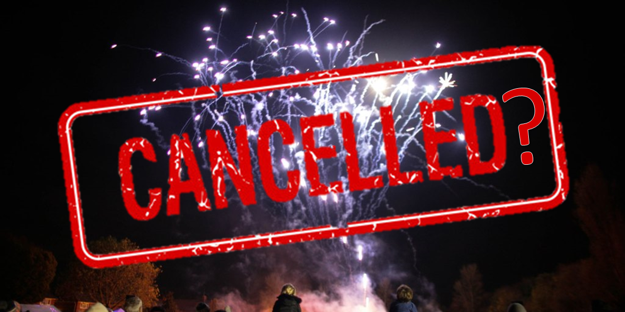 Bunkfest 2021, car rally, fireworks to be cancelled?