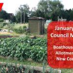 Full council meeting 11th Jan 2020